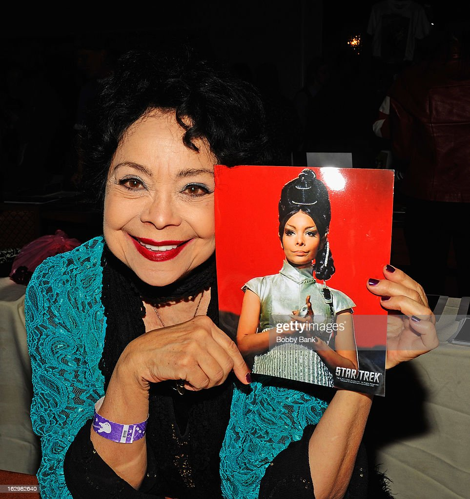 <a gi-track='captionPersonalityLinkClicked' href=/galleries/search?phrase=Arlene+Martel&family=editorial&specificpeople=726909 ng-click='$event.stopPropagation()'>Arlene Martel</a> attends the David T. Jones Memorial / Monkees Convention 2013 at the Sheraton Meadowlands Hotel & Conference Center on March 2, 2013 in East Rutherford, New Jersey.