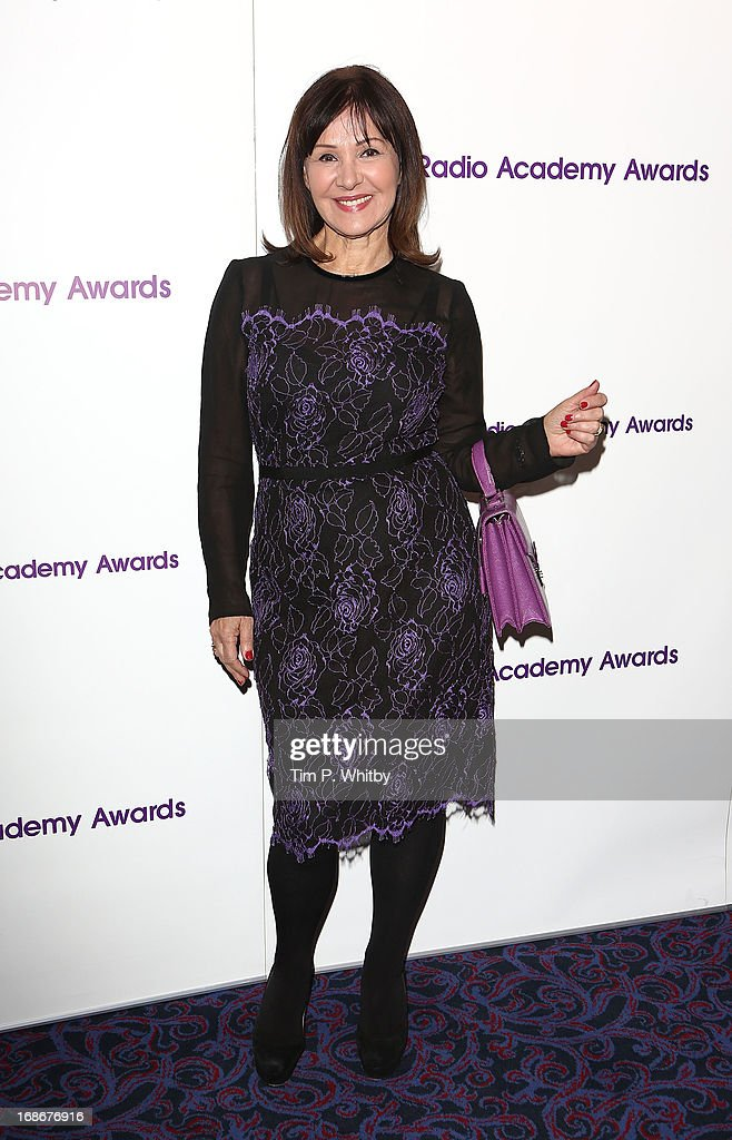 Arlene Phillips attends the Sony Radio Academy Awards at The Grosvenor House Hotel on May 13, 2013 in London, England.