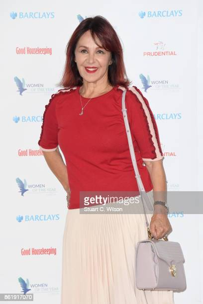 Arlene Phillips attends the Woman Of The Year Awards Lunch at Intercontinental Hotel on October 16 2017 in London England