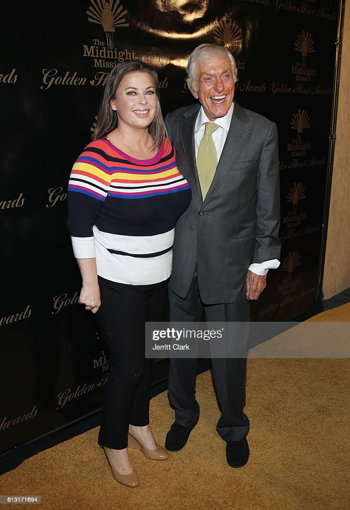 Arlene Silver and Dick Van Dyke attend Midnight Mission's Golden Heart Awards Gala at the Beverly Wilshire Four Seasons Hotel on October 6, 2016 in Beverly Hills, California.