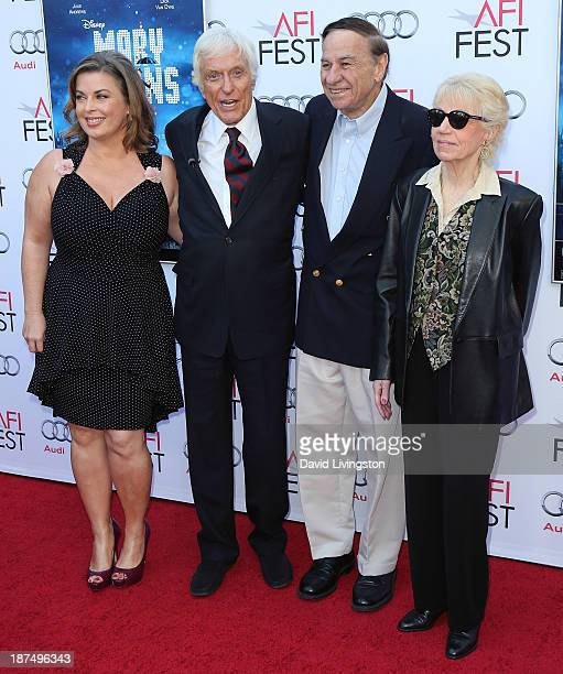 Arlene Silver husband actor Dick Van Dyke songwriter Richard M Sherman and wife Elizabeth Sherman attend the AFI FEST 2013 presented by Audi 50th...