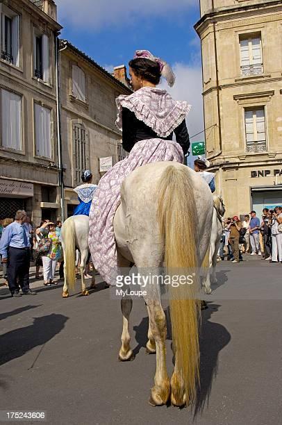 Arlesiennes Fete du Costume Arles Bouches du Rhone Provence France