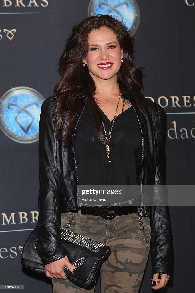 Arleth Terán attends The Mortal Instruments: City of Bones' Mexico City screening at Auditorio Nacional on August 27, 2013 in Mexico City, Mexico.