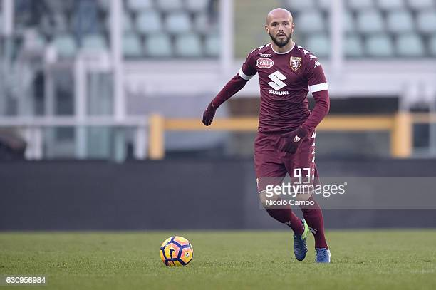 Arlind Ajeti of Torino FC in action during the friendly football match between Torino FC and SS Monza Torino FC wins 10 over SS Monza