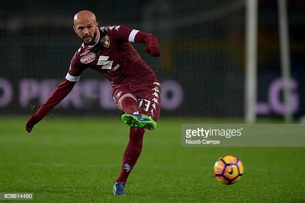 Arlind Ajeti of Torino FC in action during the TIM Cup football match between Torino FC and AC Pisa Torino FC wins 40 over AC Pisa