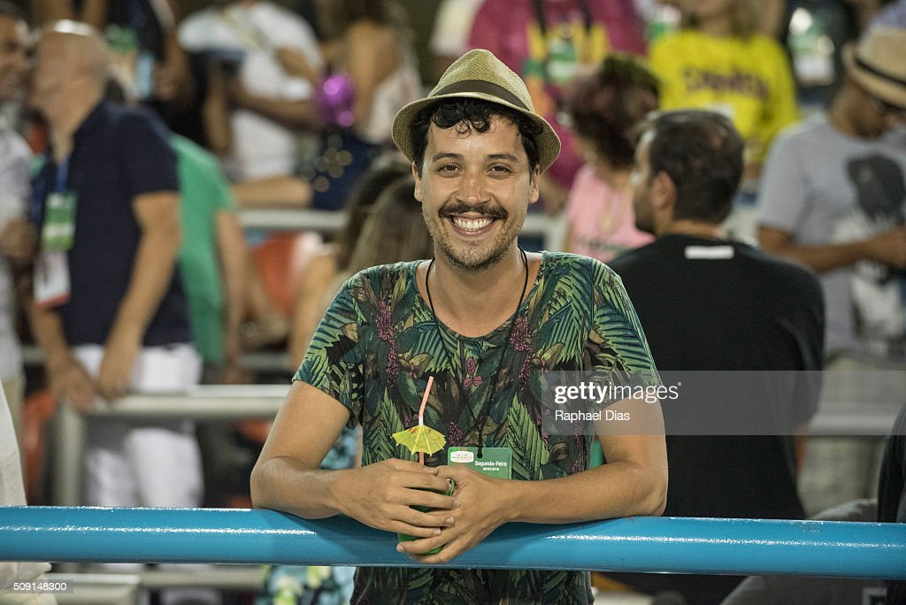 Devendra Ananda attends to the Rio Carnival in Sambodromo on February 8, 2016 in Rio de Janeiro, Brazil. Despite the Zika virus epidemic, thousands of tourists gathered in Rio de Janeiro for the carnival.
