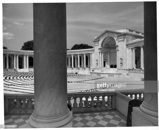 Arlington Memorial Amphitheater in Arlington Virginia 1955