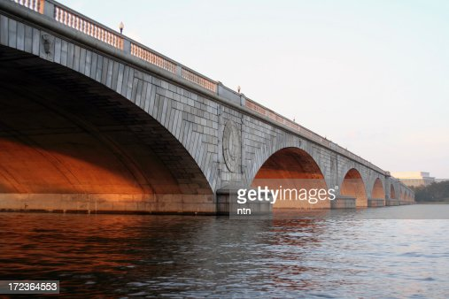 'Arlington Memorial Bridge, Washington DC'