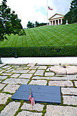 A flag at the grave of President John F. Kennedy on Memorial Day.