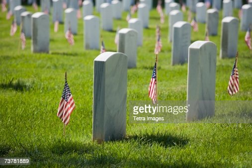Arlington National Cemetery Washington DC USA : Stock Photo