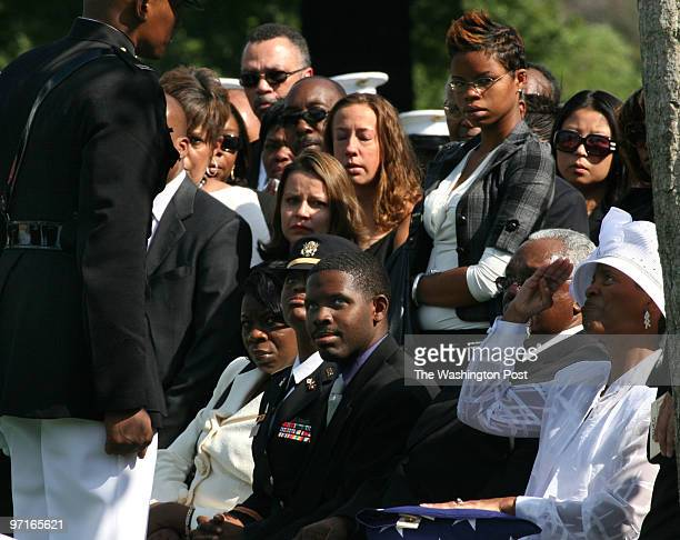 Arlington VA Arlington Cemetary funeral for Marine Capt Jesse Melton 111 of Randallstown MD who was killed in Afghanistan on Sept 9th while...
