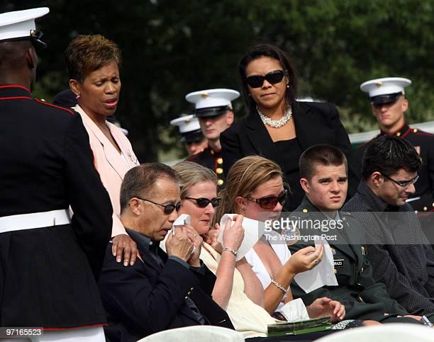 Arlington VA Arlington National Cemetary burial of Marine Lt Nicholas A Madrazo of Bothell Washington who died Sept 9 while supporting combat...