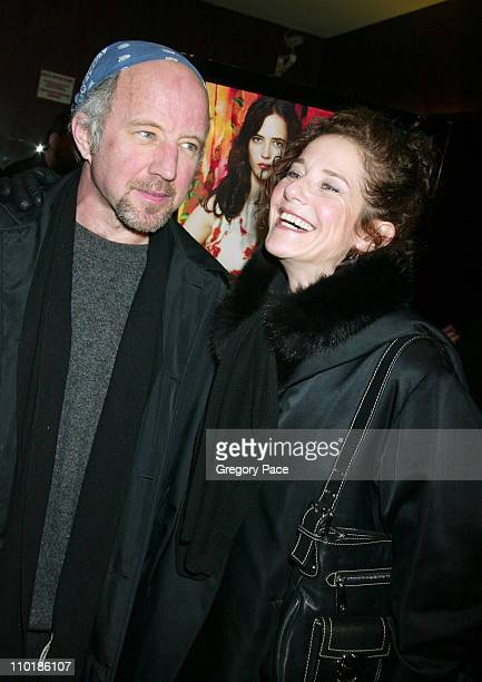Arliss Howard and wife Debra Winger during 'The Dreamers' New York Premiere Inside Arrivals at The Beekman Theatre in New York City New York United...