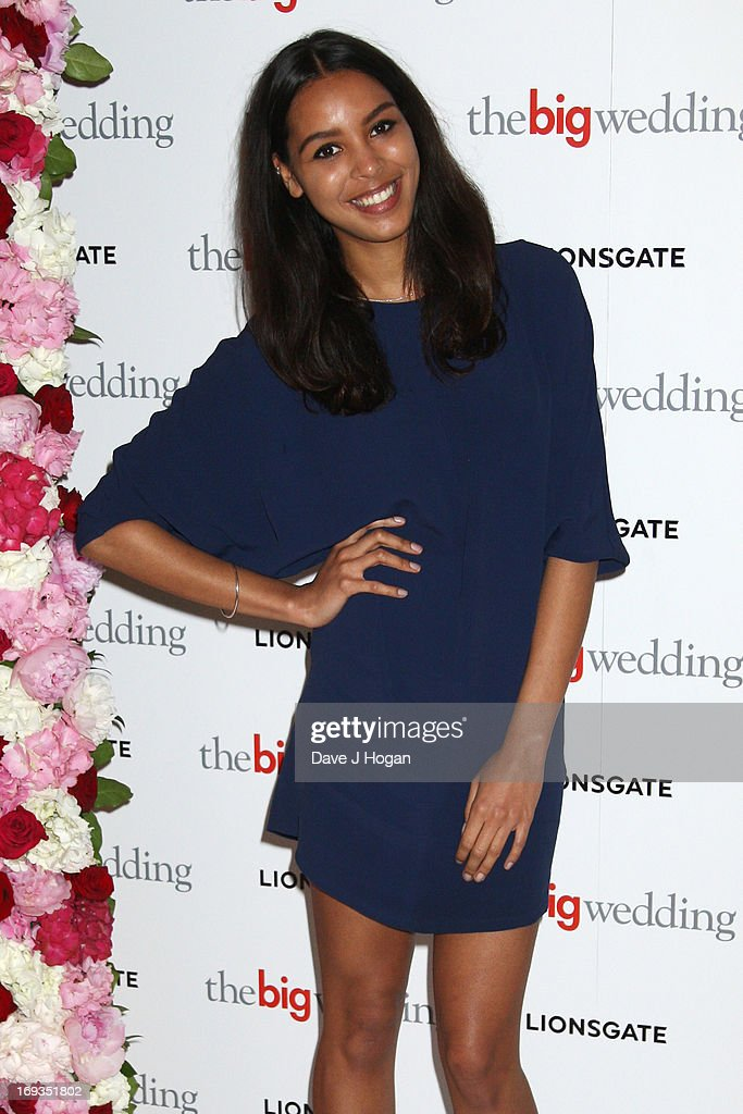 Arlissa attends a special screening of 'The Big Wedding' at The Mayfair Hotel on May 23, 2013 in London, England.