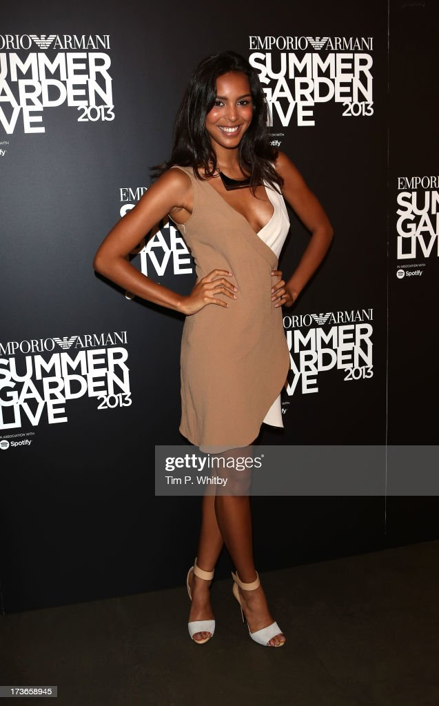 Arlissa attends Emporio Armani's Summer Garden Live 2013 on July 16, 2013 in London, England.