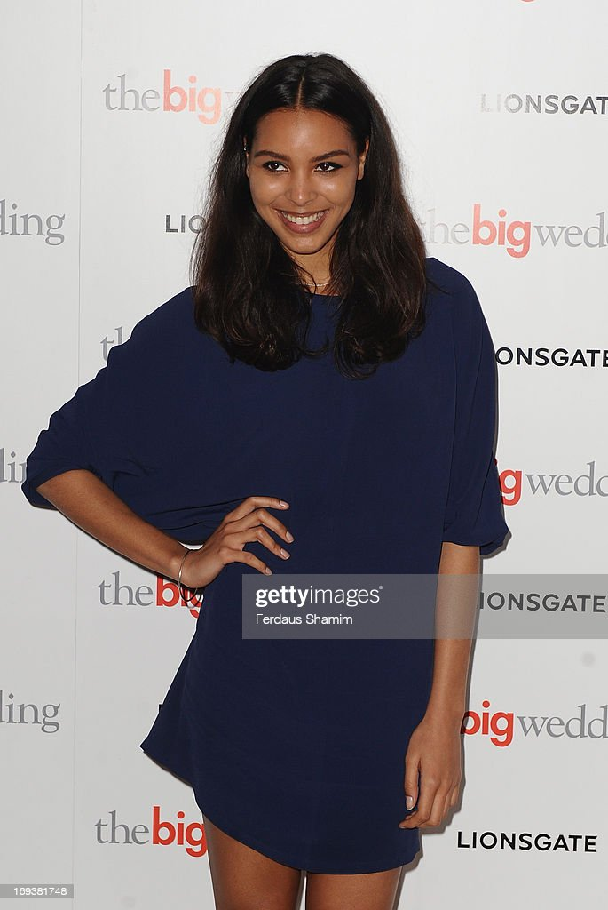 Arlissa attends Special screening of 'The Big Wedding' at May Fair Hotel on May 23, 2013 in London, England.