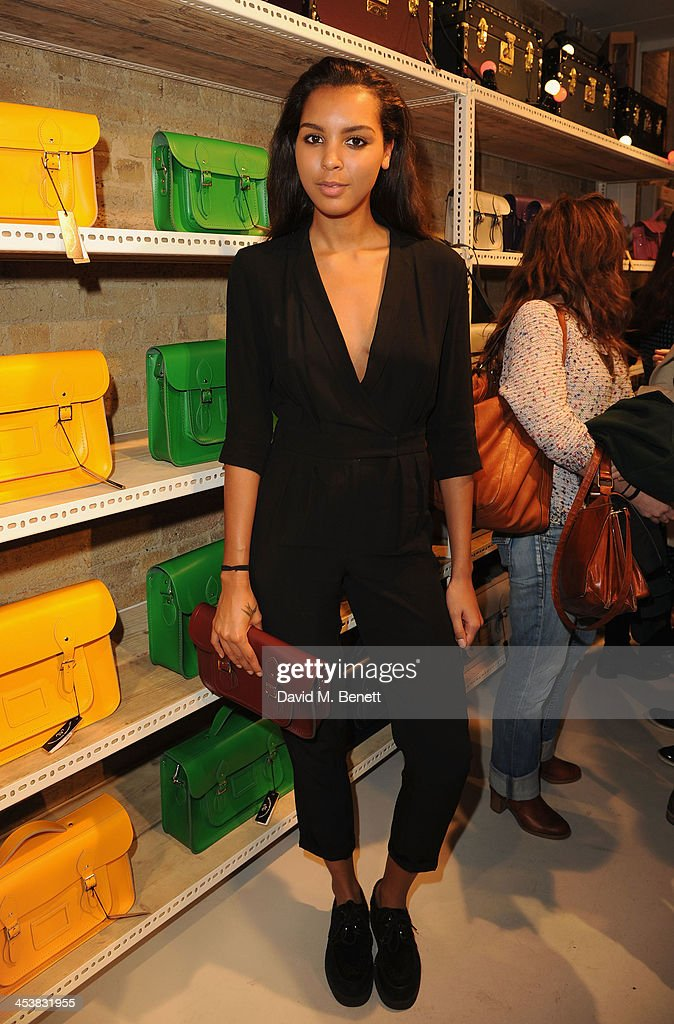 <a gi-track='captionPersonalityLinkClicked' href=/galleries/search?phrase=Arlissa&family=editorial&specificpeople=10285113 ng-click='$event.stopPropagation()'>Arlissa</a> attends The Cambridge Satchel Company launch of their East London pop up store on December 5, 2013 in London, England.