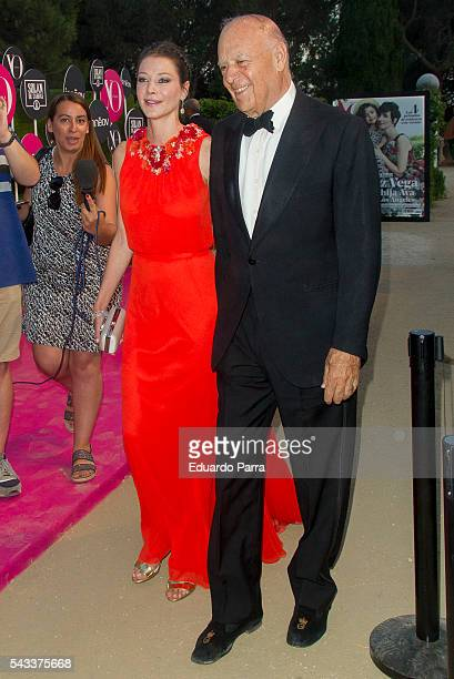 arlos Falco and Esther Dona attend the 'Yo Dona' international awards at La Quinta de la Munoza on June 27 2016 in Madrid Spain