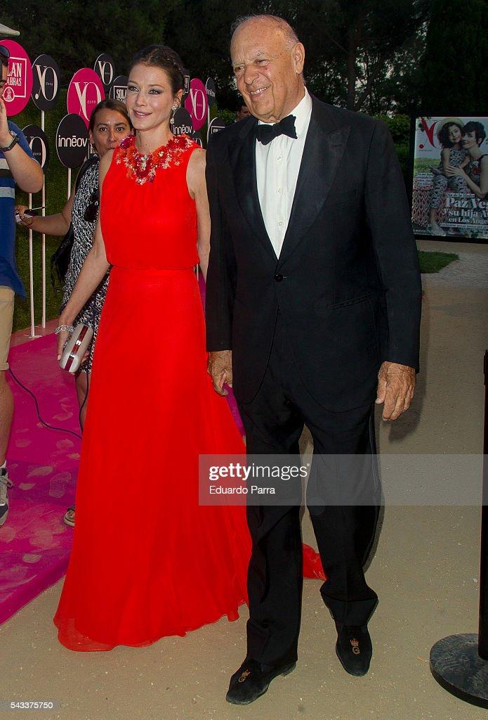 arlos Falco and Esther Dona attend the 'Yo Dona' international awards at La Quinta de la Munoza on June 27, 2016 in Madrid, Spain.