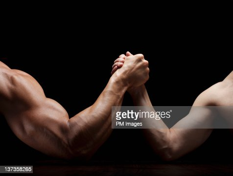 Arm Wrestling Mismatch