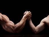 Arm Wrestling Mismatch