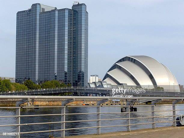 Armadillo conference center by river Clyde Glasgow
