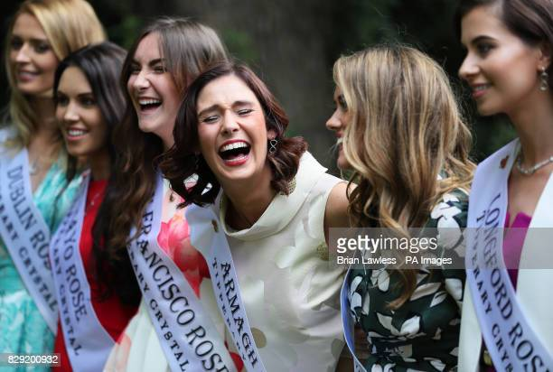 Armagh rose Nicole McKeown along with roses from Ireland and overseas who are preparing for their journey to Tralee for the Rose of Tralee...