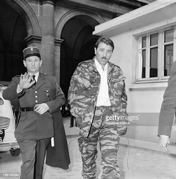 Armand Belvisi one of the perpetrators of the assassination attempt against General de Gaulle in Petit Clamart the day before his trial on August 28...