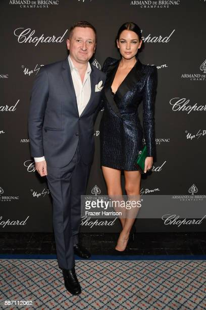 Armand de Brignac CEO Sebastien Besson attend Creatures Of The Night LateNight Soiree Hosted By Chopard And Champagne Armand De Brignac at The Setai...
