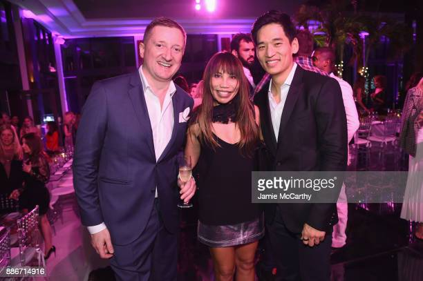 Armand de Brignac CEO Sebastien Besson Mollie Scott and Eric Kim attend Creatures Of The Night LateNight Soiree Hosted By Chopard And Champagne...