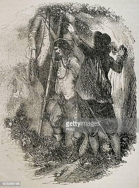 ArmandCharles de La Porte Duc de La Meilleraye French general Grand Master and Captain General of Artillery La Meilleraye orders the the envoy from...