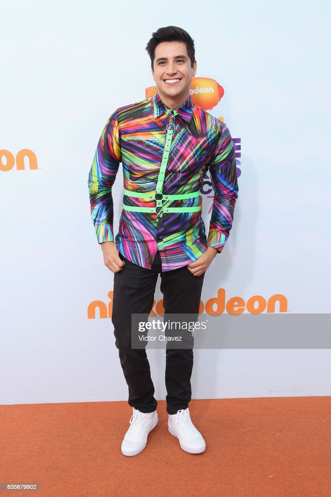 Armando Andrade attends the Nickelodeon Kids' Choice Awards Mexico 2017 at Auditorio Nacional on August 19, 2017 in Mexico City, Mexico.