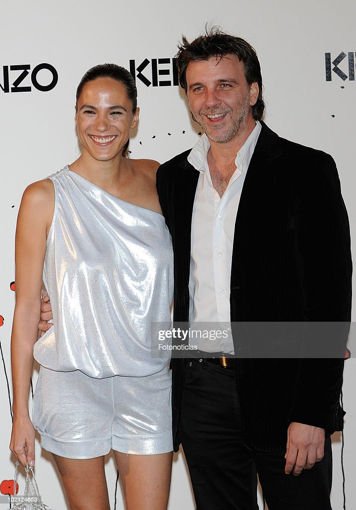 Armando del Rio (R) and guest attend 'Kenzo' party at the Canal de Isabel II Foundation on June 15, 2010 in Madrid, Spain.