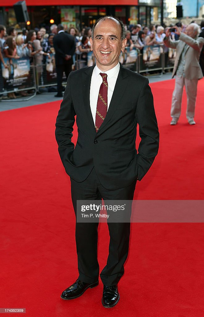 Armando Iannucci attends the 'Alan Partridge: Alpha Papa' World Premiere Day at Vue Leicester Square on July 24, 2013 in London, England.