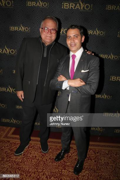 Armando Lucas Correa and Gabriel RiveraBarraza Attend The 2017 HPRA Bravo Awards at Lotte New York Palace on October 11 2017 in New York City