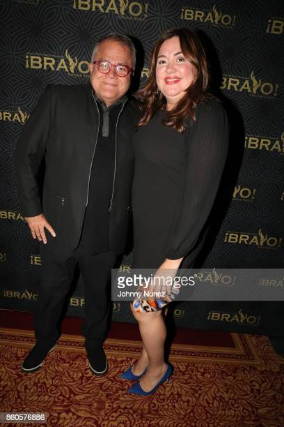 Armando Lucas Correa and Monqiue Manso Attend The 2017 HPRA Bravo Awards at Lotte New York Palace on October 11 2017 in New York City