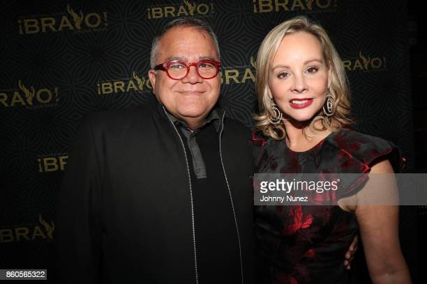 Armando Lucas Correa and Yaz Hernández Attend The 2017 HPRA Bravo Awards at Lotte New York Palace on October 11 2017 in New York City