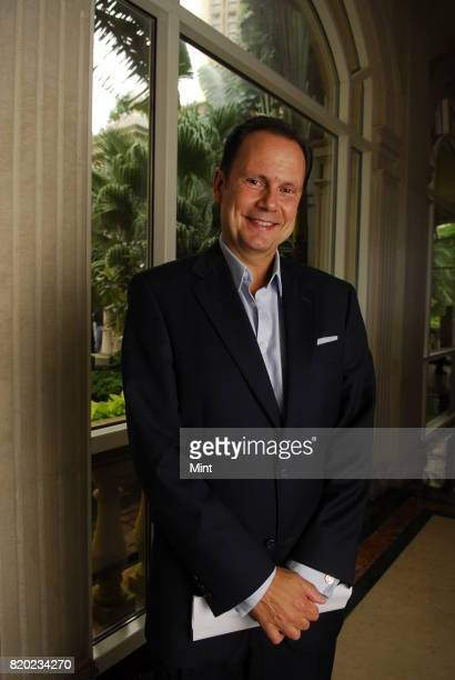 Armando Nunez President of CBS Studios International poses for photograph during an interview with Mint in Mumbai