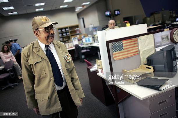 Armando Roblan who plays the character of Cubas Acting President Raul Castro in the television skit known as 'The Office of the Chief' walks through...