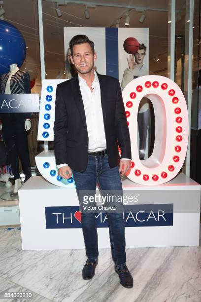 Armando Torrea attends the Tommy Hilfiger Mexico City store opening at Torre Manacar on August 17 2017 in Mexico City Mexico