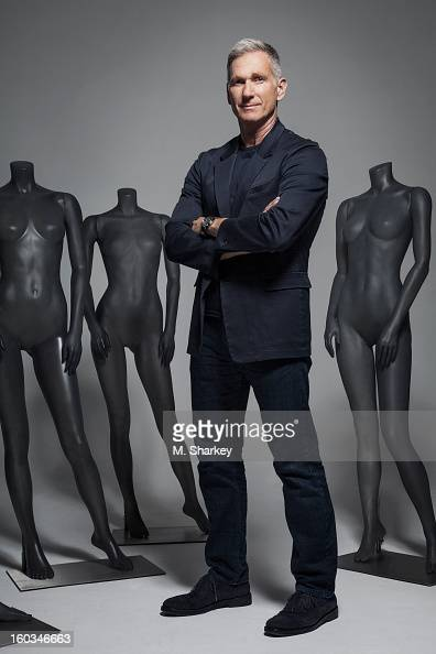 Armani Exchange president and CEO Harlan Bratcher is photographed for Out Magazine on October 1 2012 in New York City PUBLISHED IMAGE