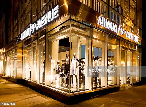 Armani store at the Fifth Avenue in New York