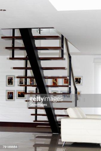 Armchair in a living room : Foto de stock
