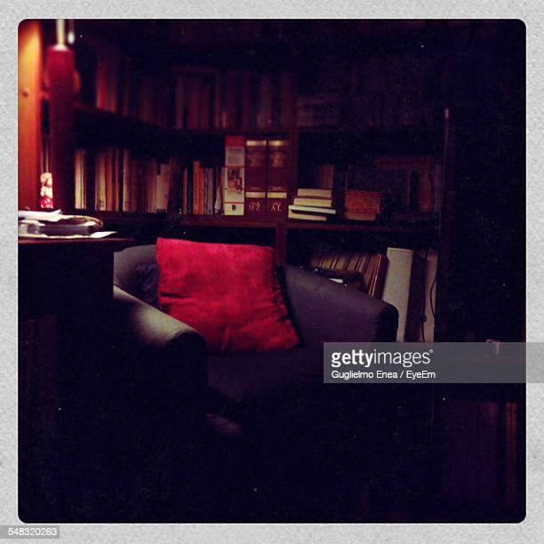 Armchair In Home Library