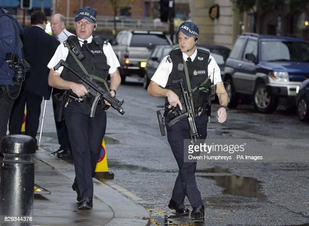 Armed Police on guard at Newcastle Crown Court as the convoy carrying David Bieber arrives The 35yearold will go on trial accused of murdering the...