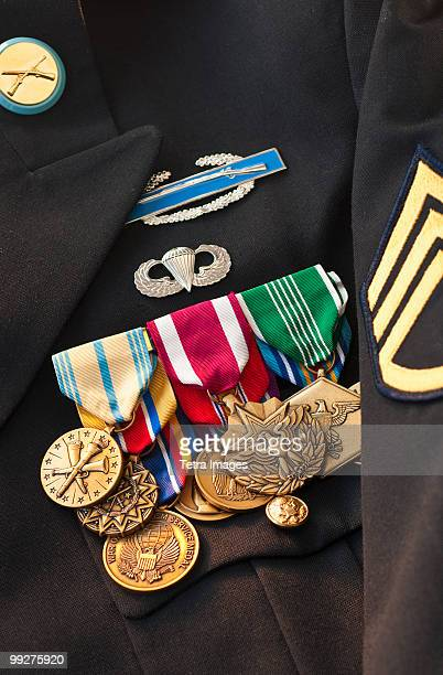 Armed services medals