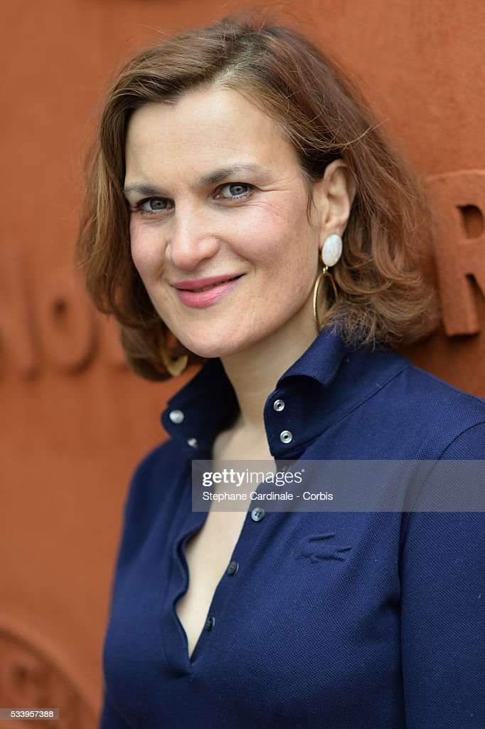 Armelle Lesniak attends the 2016 French tennis Open day 3, at Roland Garros on May 24, 2016 in Paris, France.