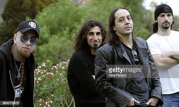 Armenian hard–rock quarter System of a Down combines visceral punch with a heady unpredictable eccentricity They performed at the Gibson Amphitheatre...