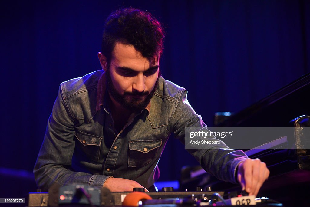 Armenian pianist Tigran Hamasyan performs on stage at the South Bank Centre during the London Jazz Festival 2012 on November 10, 2012 in London, United Kingdom.