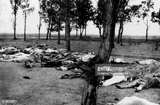 Armenians killed by Turks during the Armenian Genocide 1915